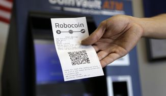 A tamper-proof, decentralized feature has made blockchain increasingly popular beyond its original function supporting the bitcoin digital transactions. (Associated Press/File)