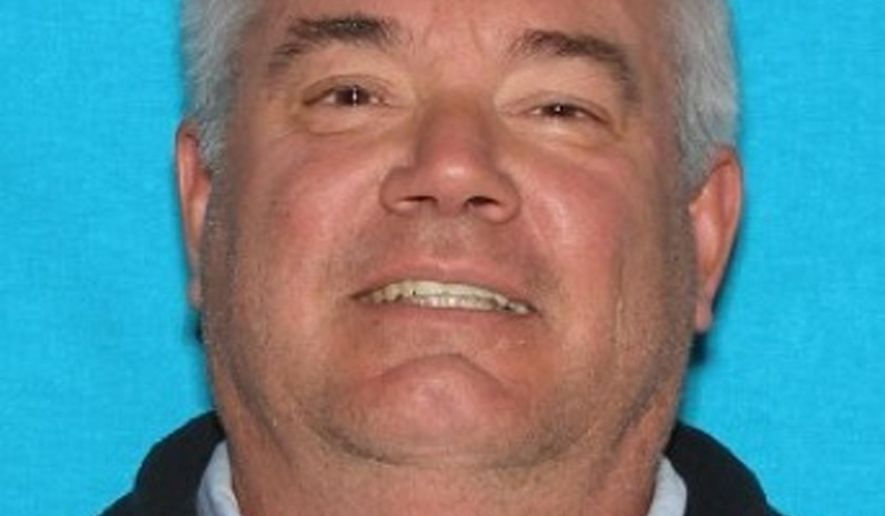 FILE - This undated file photo provided by the Canyon County Sheriff's office shows Gerald Bullinger. Prosecutors have charged the missing Utah man with three counts of first-degree murder after two additional bodies found near a rural Idaho farmhouse were identified. (Canyon County Sheriff via AP, File)