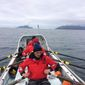 An international team of rowers aims to break several world records paddling across the Arctic Ocean. (Polar Row photograph)