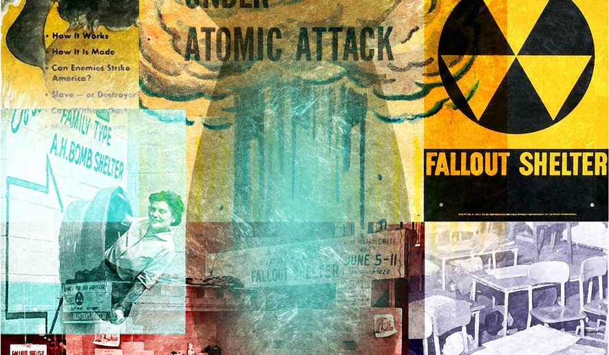 Illustration on the history of preparedness for nuclear attack        The Washington Times