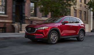 The Mazda CX-5 has always been a top performer in the brand's lineup. Now with an all new design in 2017, it has taken the compact crossover SUV market to an even higher level of perfection. (Photo courtesy of Mazda).