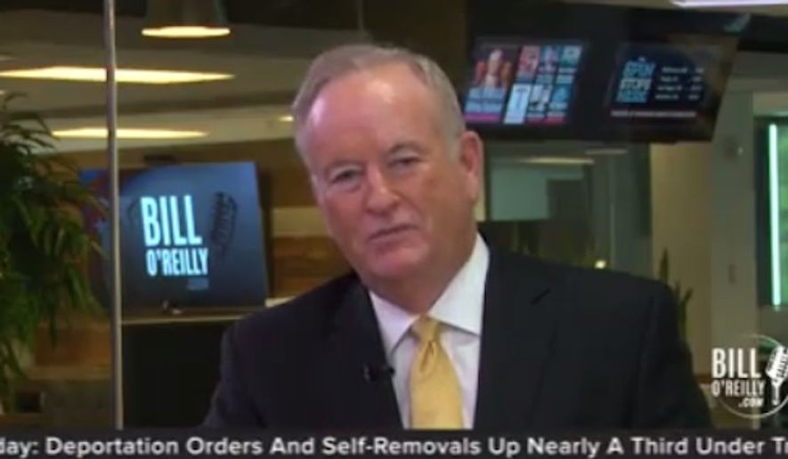 Ousted Fox News host Bill O'Reilly debuted an online news show on his personal website Wednesday night. (billoreilly.com)