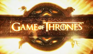 """Game of Thrones"" logo (Courtesy HBO)"