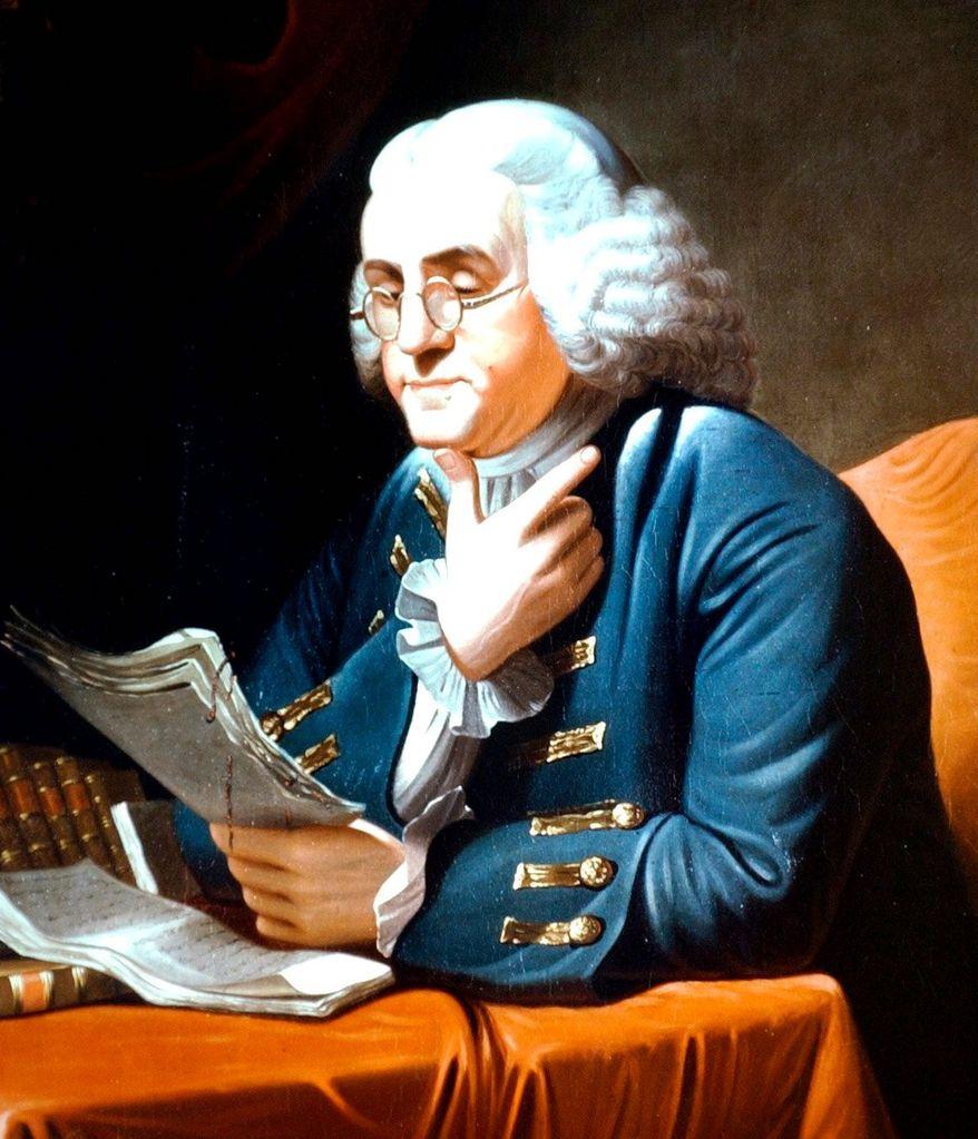 Benjamin Franklin. (Associated Press) ** FILE **