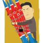 Illustration on Kim's attachment to nuclear weapons by Linas Garsys/The Washington Times