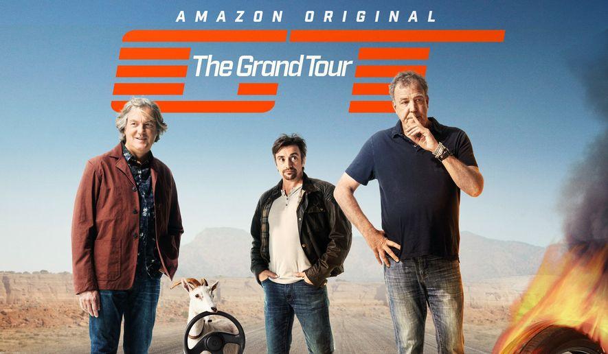 "Promotional image for Amazon's ""The Grand Tour"" (Amazon.com)"