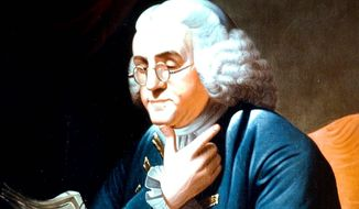 Benjamin Franklin     Associated Press image