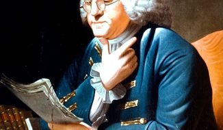Benjamin Franklin     Associated Press image