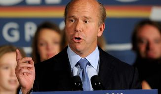 The innovative focus of Rep. John Delaney, Maryland Democrat, has been of little to no benefit in his mostly rural 6th Congressional District, so he plans to take it to the presidential campaign trail. (Associated Press)
