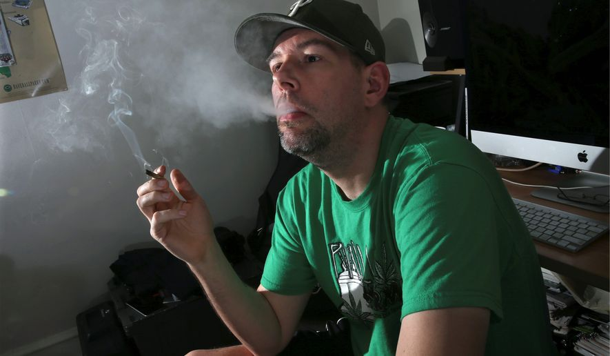 In two medical studies published this week, researchers say there isn't enough data to evaluate the benefits between treating chronic pain and PTSD with medical marijuana. (Associated Press)