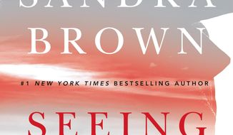 "This cover image released by Grand Central Publishing shows ""Seeing Red,"" a novel by Sandra Brown. (Grand Central Publishing via AP)"