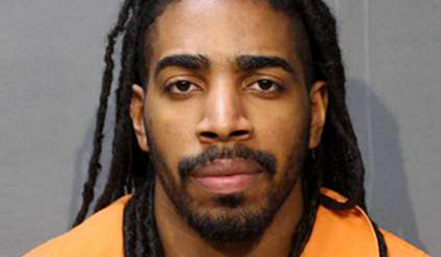 This undated photo provided by the Woodbury County Jail in Sioux City, Iowa, shows Wesley Correa-Carmenaty, who is charged with killing a sheriff's deputy and wounding another while escaping from an Iowa jail on May 1, 2017. Correa-Carmenaty entered guilty pleas Tuesday, Aug. 15, 2017, to murder, attempted murder, escape, kidnapping and other crimes. His trial was set to begin Tuesday, but his attorney informed authorities last week that Correa-Carmenaty would change his plea in Pottawattamie County District Court in Council Bluffs. (Woodbury County Jail via AP)