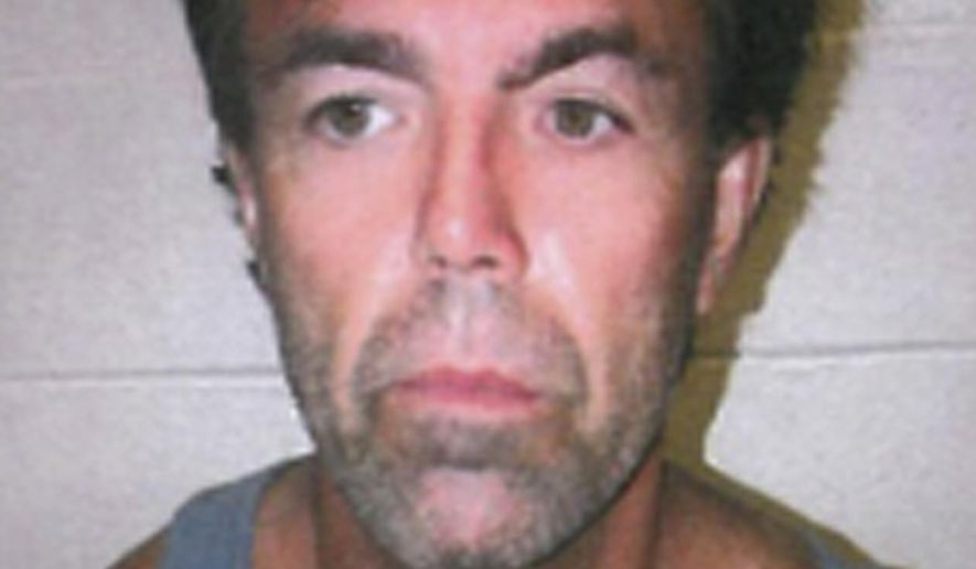 This undated photo provided by the EPA Enforcement Division shows James Ward. Federal officials said on Tuesday, Aug. 15, 2017, that Ward, who escaped custody in Wyoming four years ago, is being sought for the illegal dumping of radioactive oilfield waste in North Dakota. (EPA Enforcement Division via AP)