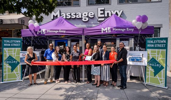 The Tenleytown location of Massage Envy officially opened Thursday in Northwest.   (Christopher Jason Studios)