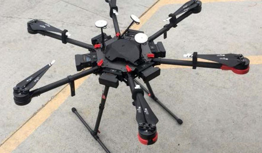 Drones are becoming a choice method for smuggling high-dollar hard drugs into the U.S., Border Patrol agents say. (Associated Press/File)