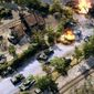 American and German forces battle in the real time strategy video game for the PlayStation 4, Sudden Strike 4.