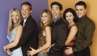 FRIENDS: Lisa Kudrow, Matthew Perry, Jennifer Aniston, David Schwimmer, Courteney Cox and Matt Le Blanc. (NBC & Warner Bros.)