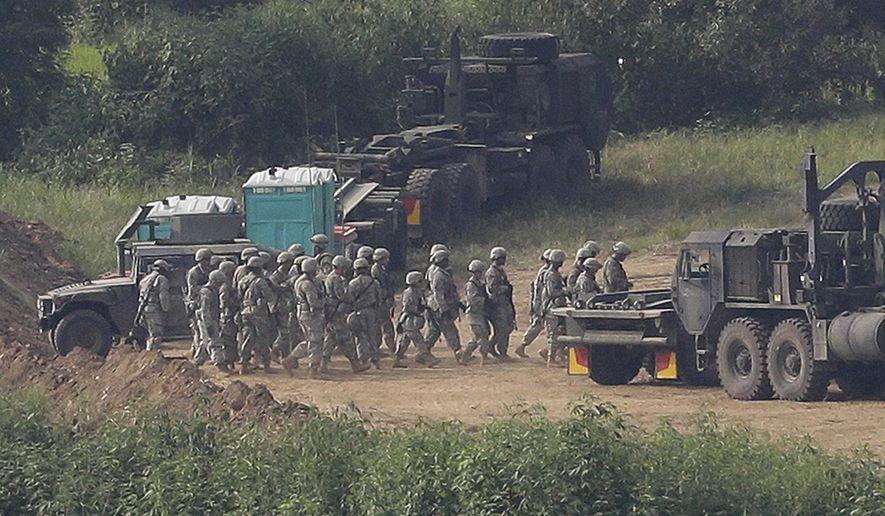 U.S., South Korea military drills start amid North Korea threats - Washington Times