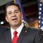 Democratic Congressional Campaign Committee Chairman Rep. Ben Ray Lujan said his party would not impose an abortion litmus test for its candidates. (Associated Press)