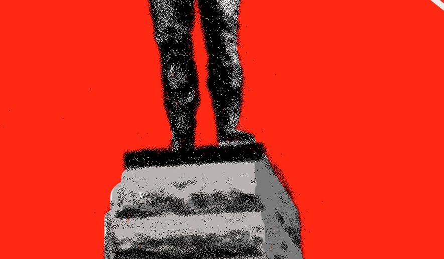 Illustration on removing Confederate statues and monuments by Mark Weber/Tribune Content Agency