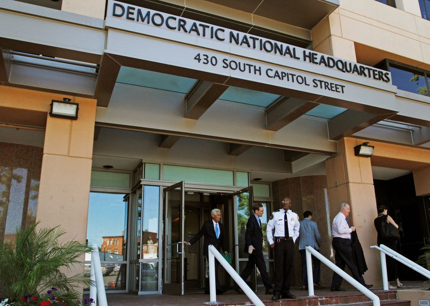Former NSA and CIA officials believe the so-called hack of the Democratic National Committee would not have been possible without someone working on the inside. (Associated Press)
