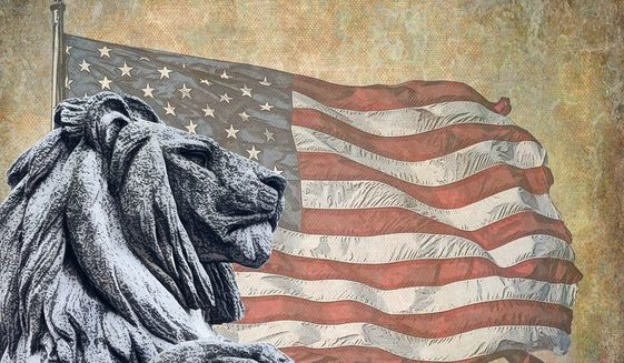 Presidential Courage Illustration by Greg Groesch/The Washington Times
