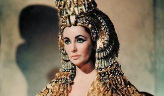 "Elizabeth Taylor took on the starring role in 1963's ""Cleopatra,"" directed by  Joseph L. Mankiewicz. (Twentieth Century Fox Film Corporation)"