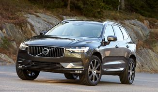 The 2018 Volvo XC60 is luxurious and sexy.