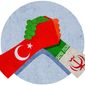 Iran Turkey Rivalry Illustration by Greg Groesch/The Washington Times