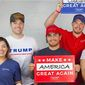The Republican National Committee appears to be comfortable with the Make America Great Again theme, a favorite of President Trump. (Republican National Committee)