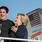 Mark Cuban, billionaire businessman and Dallas Mavericks owner, said that he doesn't have immediate plans to run for the presidency. (Associated Press)