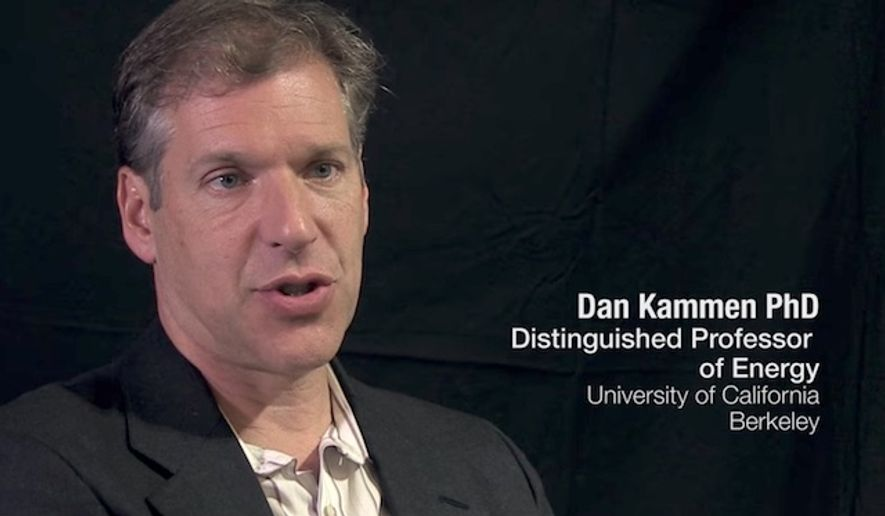 Daniel Kammen, a professor of energy at the University of California, Berkeley, and member of the State Department's science envoy program, resigned on Wednesday. (YouTube)
