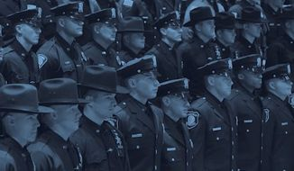 "A video released by a New York City Police Department sergeants' union claiming police officers have become the target of ""blue racism"" has sparked backlash. (NYPD Sergeants Benevolent Association)"