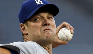 Los Angeles Dodgers starter Rich Hill pitches against the Pittsburgh Pirates in the first inning of a baseball game, Wednesday, Aug. 23, 2017, in Pittsburgh. (AP Photo/Keith Srakocic)