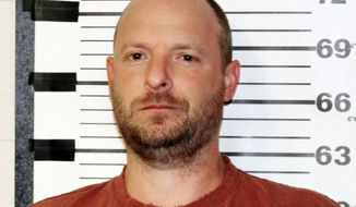 "This undated photo provided by the Teton County Sheriff's Office shows Ryen Russillo, the host of ""The Ryen Russillo Show"" on ESPN Radio. Russillo was arrested and jailed after entering a condo in Jackson, Wyo., and refusing to leave early Wednesday, Aug. 23, 2017. Police say the man found in the bedroom had slurred speech and was incoherent. The 42-year-old Russillo faces misdemeanor criminal trespassing charges.(Teton County Sheriff's Office via AP)"