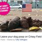 Activists in San Francisco have organized an event to cover Crissy Field in dog feces prior to the Aug. 26, 2017, rally by Patriot Prayer. (Facebook group, Leave your dog poop on Crissy Field)