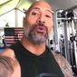 """Dwayne """"The Rock"""" Johnson took time out of his schedule on Friday to sing """"Happy Birthday"""" to the 82nd Airborne Division, which is celebrating 100 years of service. (Facebook, Dwayne Johnson)"""