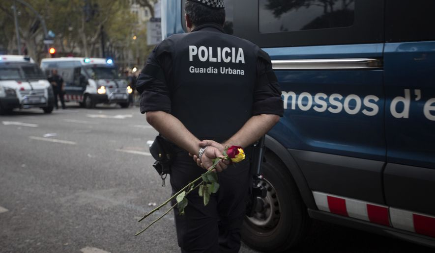 Spanish and Belgian police had no surveillance on Muslim cleric Abdelbaki Es Satty before the deadly terrorist attack in Barcelona last month. (Associated Press/File)