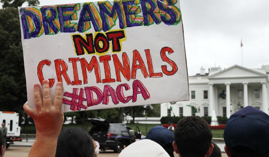 Image result for dreamers demand their rights