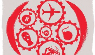 Arming Iran Illustration by Linas Garsys/The Washington Times