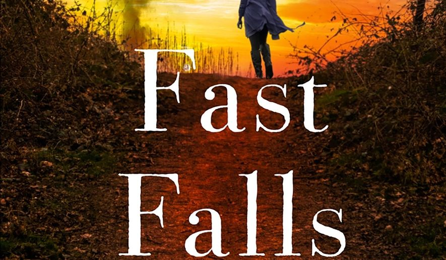 "This cover image released by Minotaur shows ""Fast Falls the Night,"" a novel by Julia Keller. (Minotaur via AP)"