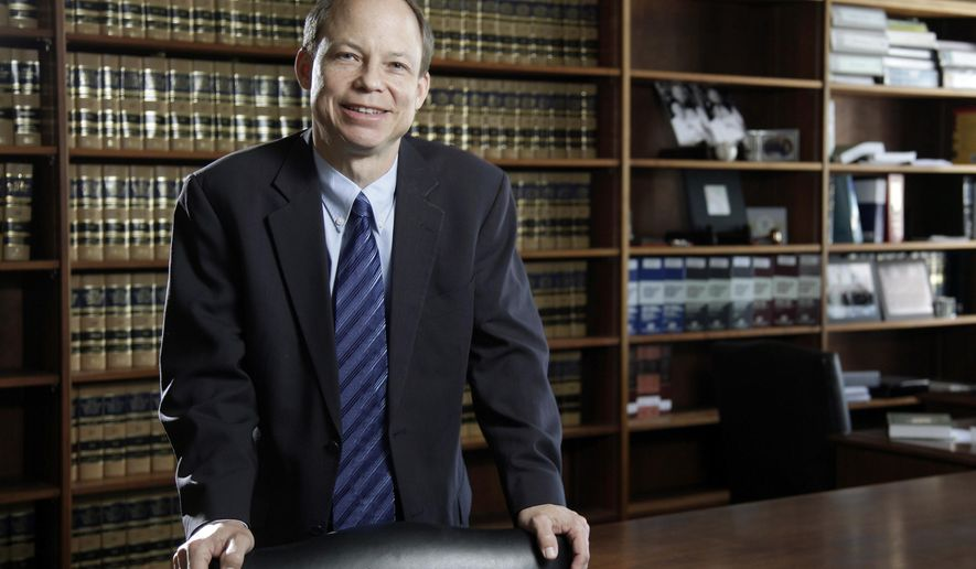 FILE - This June 27, 2011 file photo shows Santa Clara County Superior Court Judge Aaron Persky, who drew criticism for sentencing former Stanford University swimmer Brock Turner to only six months in jail for sexually assaulting an unconscious woman. A Northern California judge has ruled that a recall campaign can resume collecting signatures to oust a judge critics say gave too light a sentence to a college athlete convicted of sexual assault. In a tentative ruling Monday, Aug. 28, 2017, retired San Francisco County Judge Kay Tsenin agreed with the recall campaign that the county has authority over the recall of Santa Clara County Superior Court Judge Aaron Persky, not the state. (Jason Doiy/The Recorder via AP, File)