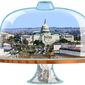 D.C. Isolated Under Glass Illustration by Greg Groesch/The Washington Times
