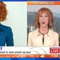 "Comedian Kathy Griffin says she's ""no longer sorry"" for the President Trump beheading stunt that jeopardized her career. (Sunrise Live)"