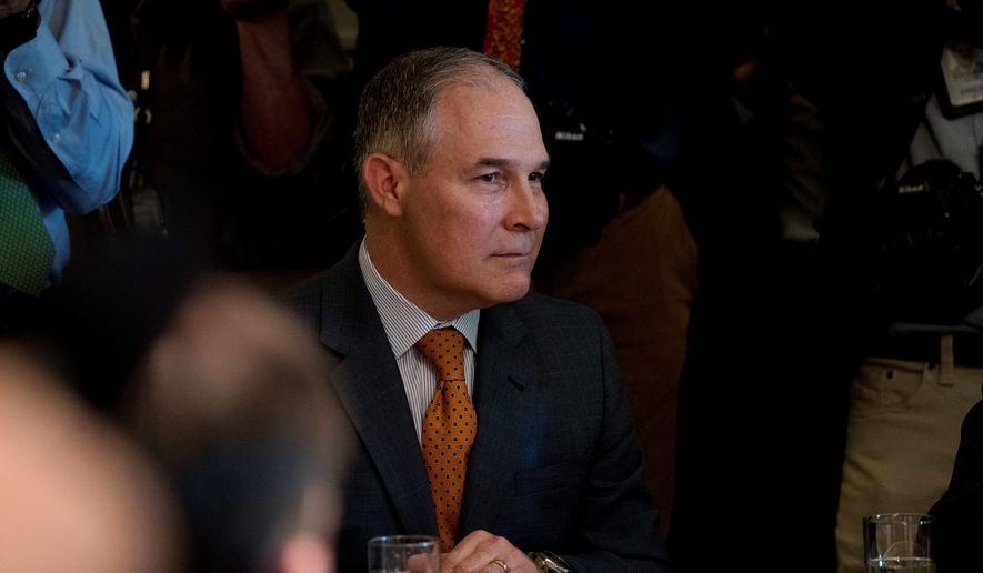 EPA Administrator Scott Pruitt (Associated Press)