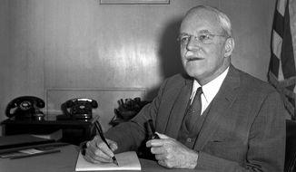 CIA Director Allen Dulles created MK-Ultra in 1953 as America's Cold War anti-communism sentiment reached its zenith. (Associated Press/File)