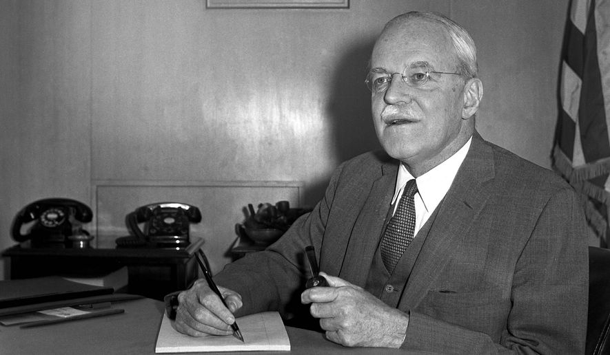 CIA Director Allen Dulles created MK-Ultra in 1953 as America's Cold War anti-communism sentiment reached its zenith. (Associated Press/File)