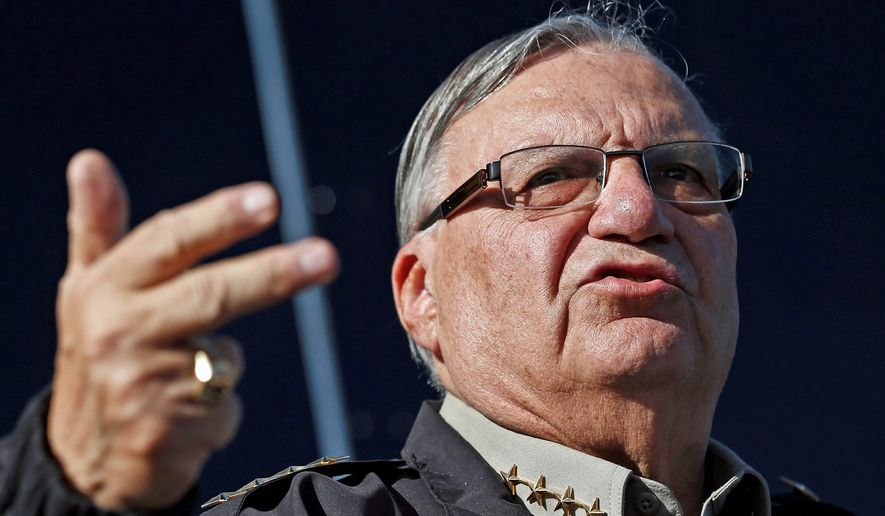 Sheriff Joe Arpaio. Copyright 2016 The Associated Press. All rights reserved