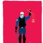 Illustration on the skewing of justice under increased police powers by Linas Garsys/The Washington Times