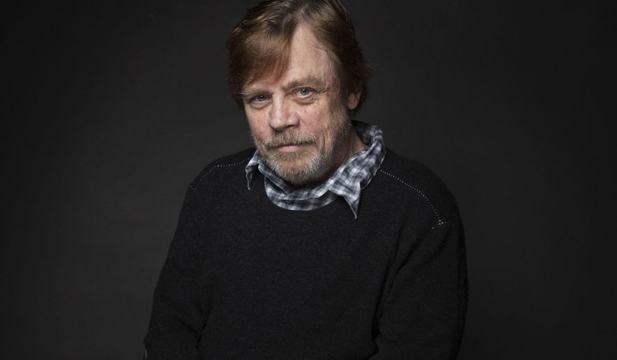 """FILE - In this Jan. 23, 2017 file photo, actor Mark Hamill poses for a portrait during the Sundance Film Festival in Park City, Utah. Hamill returns as Luke Skywalker in the upcoming """"Star Wars: The Last Jedi,"""" in theaters December 15. (Photo by Taylor Jewell/Invision/AP, File)"""